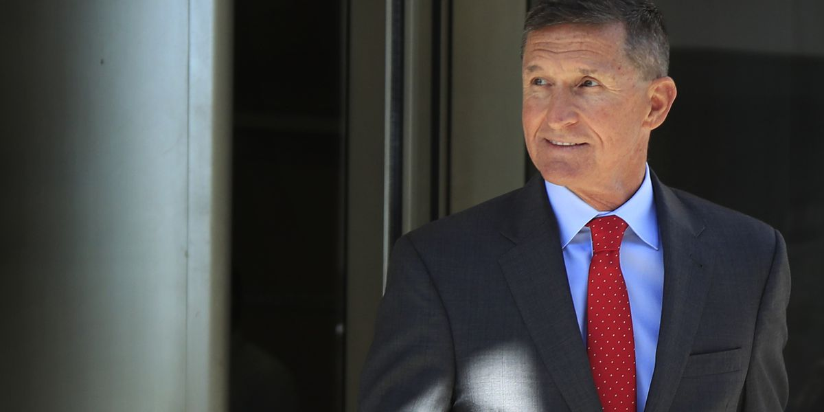 As sentencing looms, Flynn is upbeat, has adoring fans
