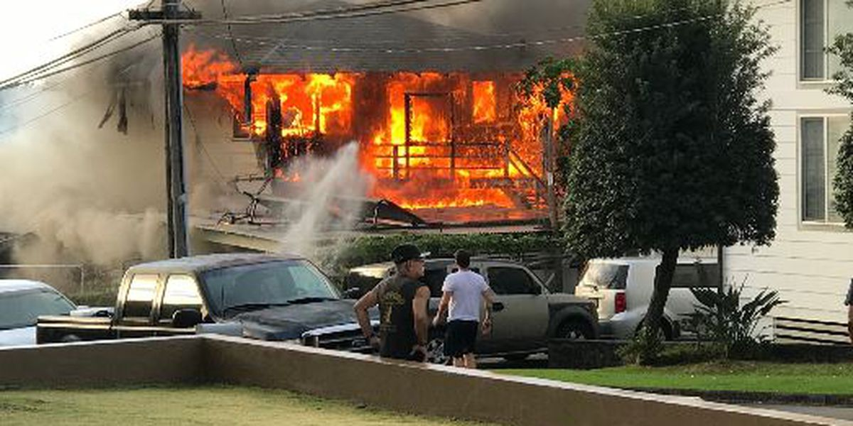 HFD: Unattended candle ignited a fire that tore through a Nuuanu home