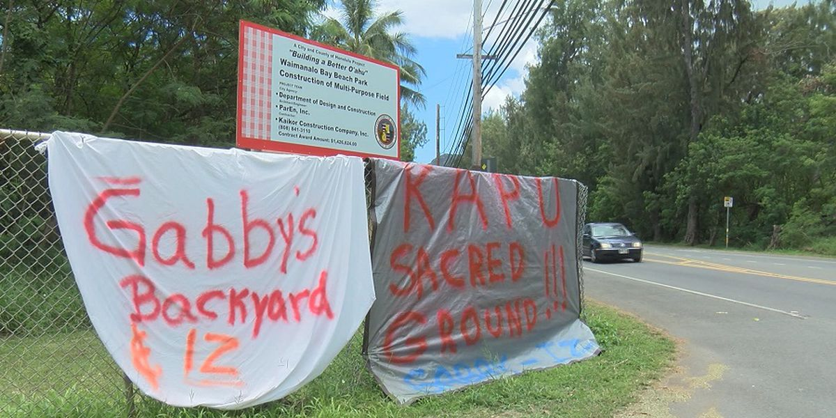 Controversial Waimanalo park project plan moving forward ... but not completely