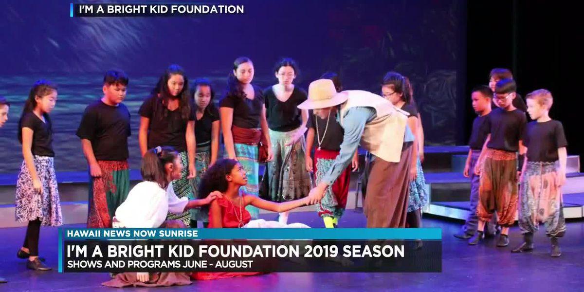 """I'm a Bright Kid"" Foundation announces 2019 season"