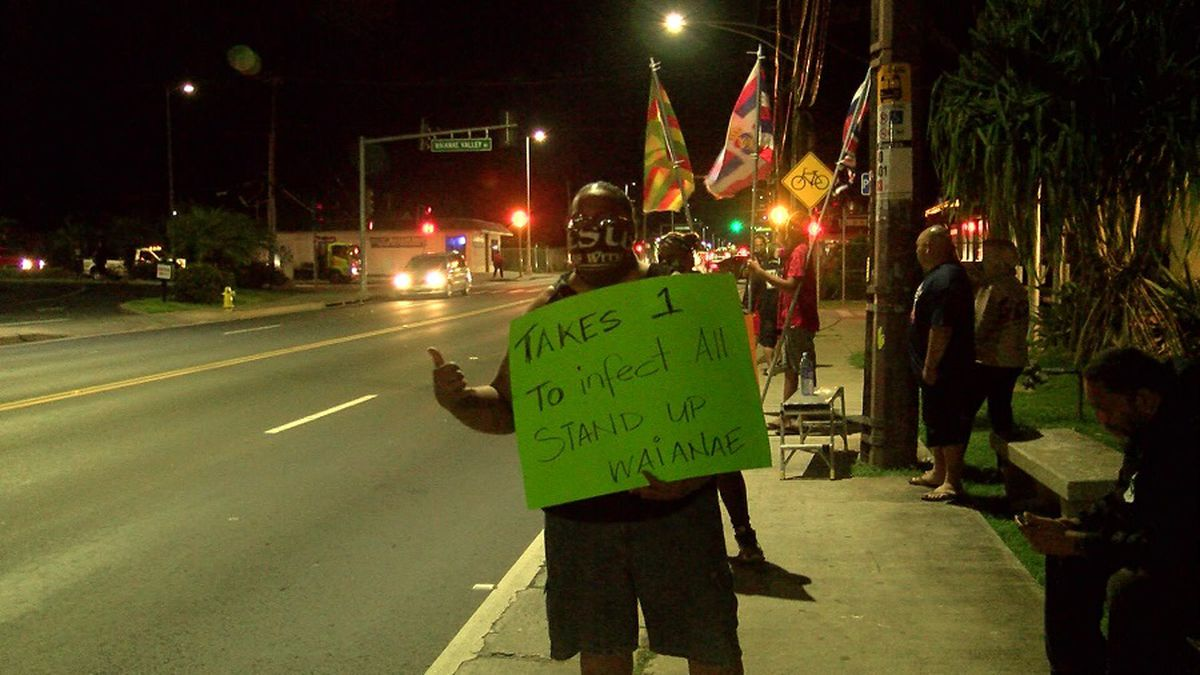 HPD responds after coronavirus concerns trigger Waianae protest