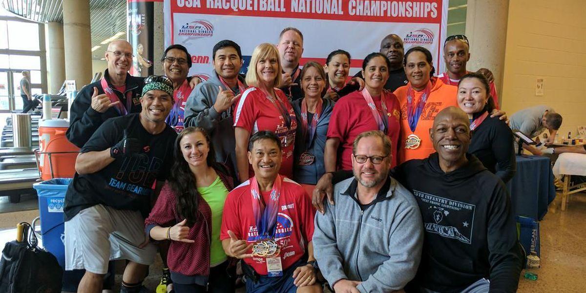 Hawaii racquetball players win gold at nationals