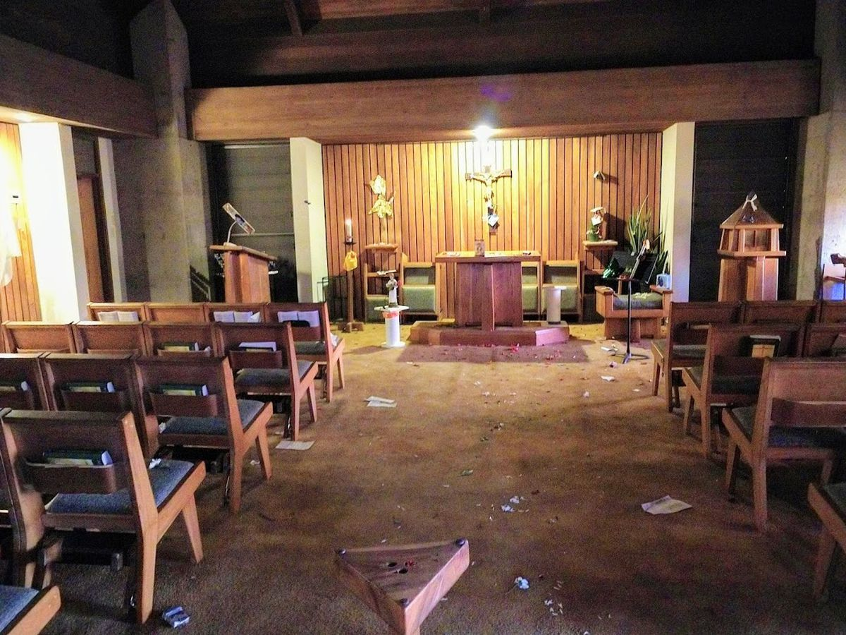 'Everything was trashed': A day after Easter, a Maui church is vandalized