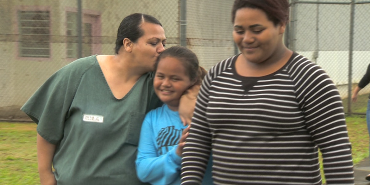 Incarcerated mothers, children brought together for Kids Day at WCCC