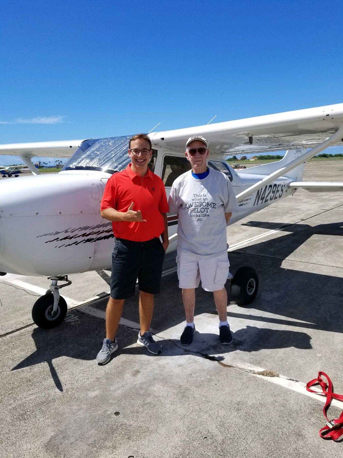 Hawaii Hosts Final Flight Of Veteran Pilot S 50 State Tour