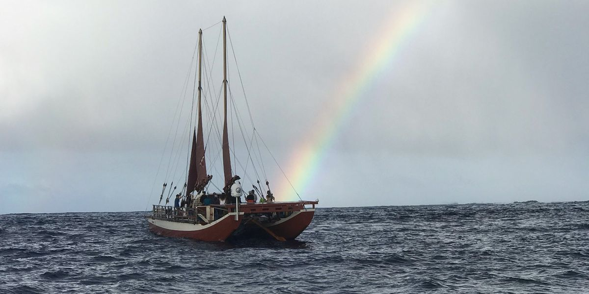 Thousands of miles and two hurricanes later, Hikianalia is finally home!
