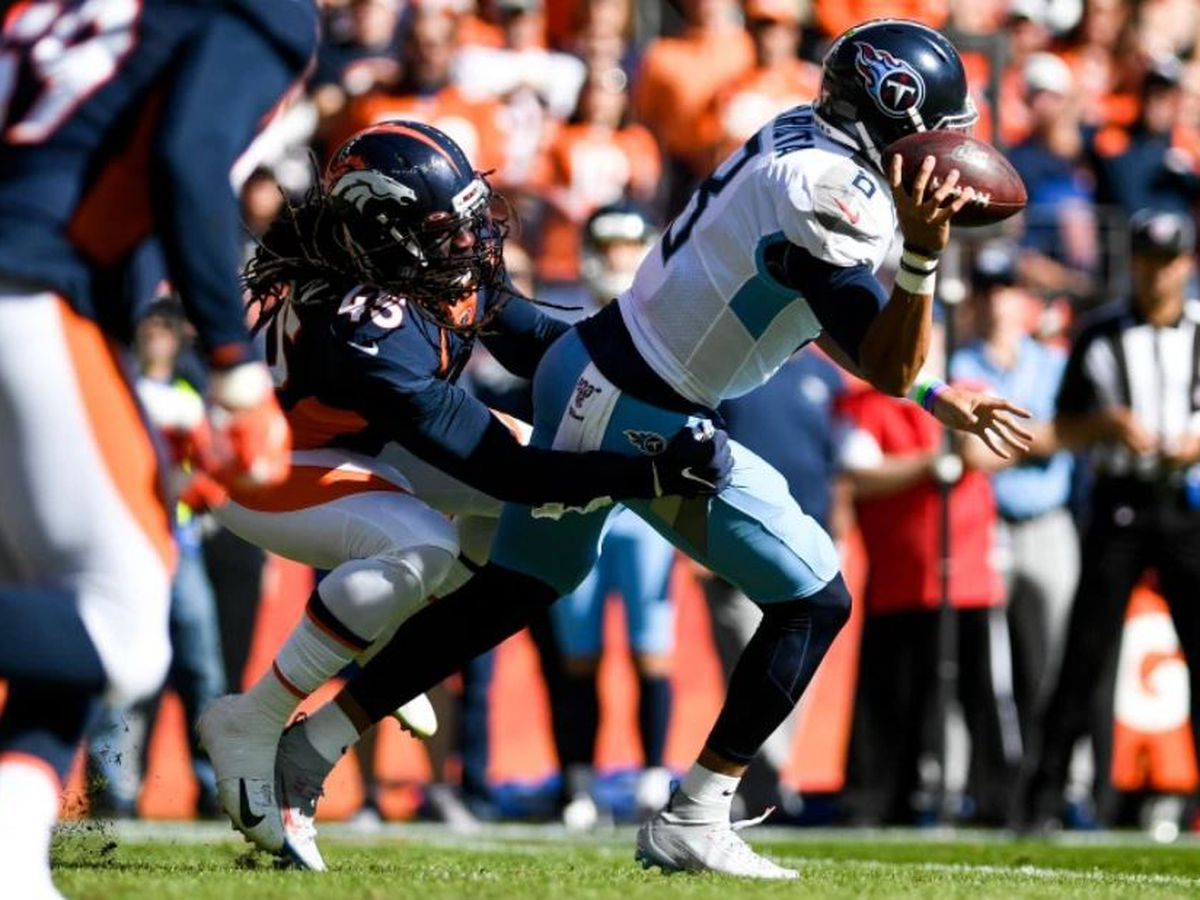 Mariota benched in 16-0 loss against Broncos