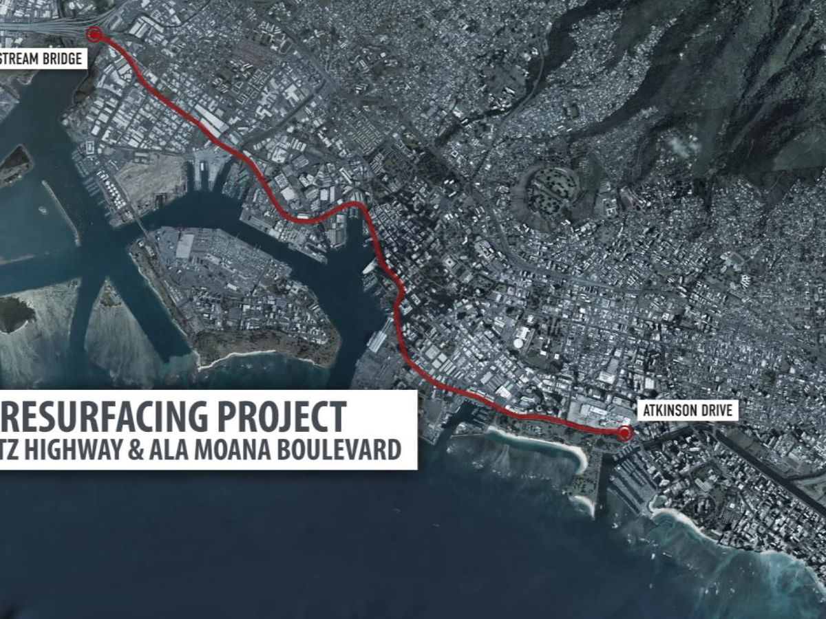 Public input sought over proposed road work for Nimitz, Ala Moana Blvd.