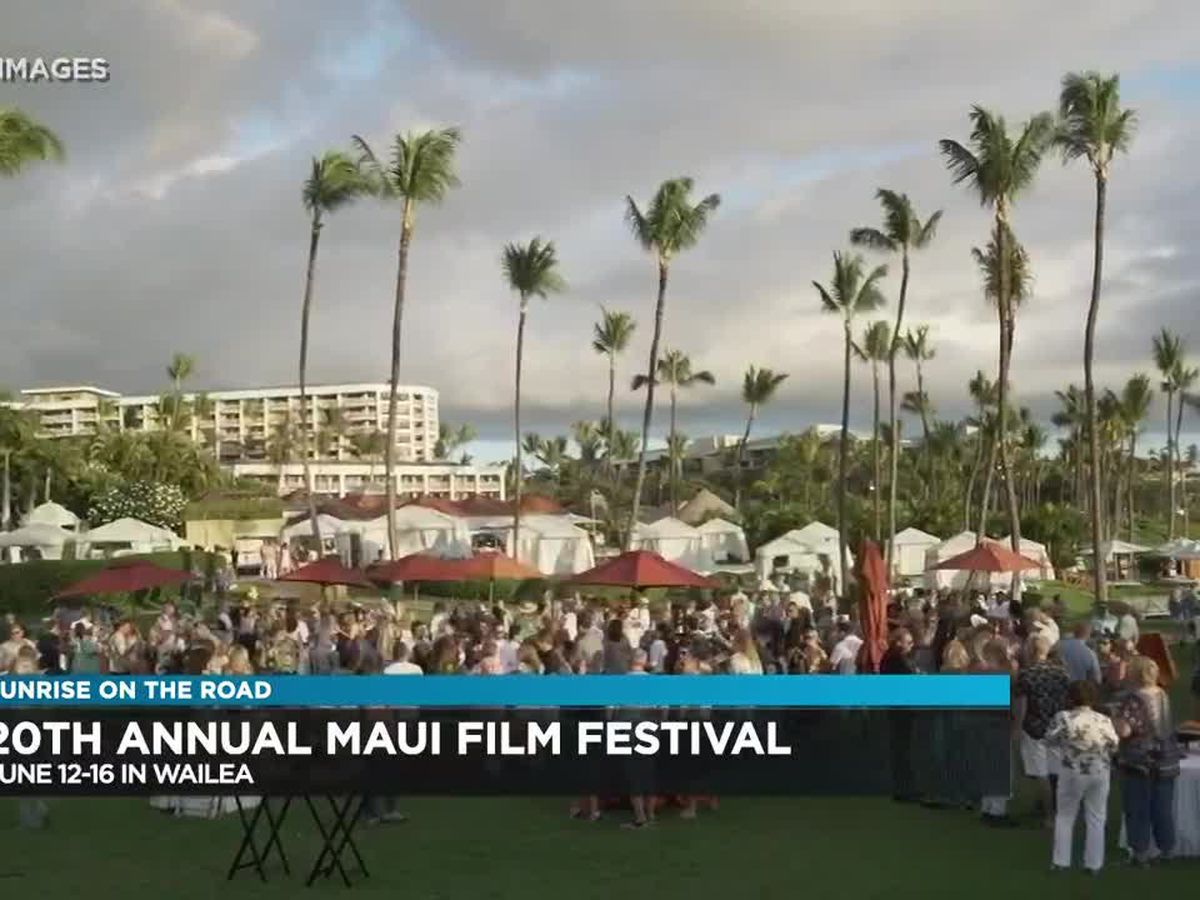 Sunrise On The Road: Maui Film Festival