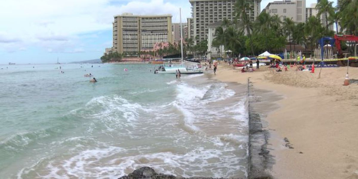 Major project begins to tackle erosion hotspot on Oahu's most famous shoreline