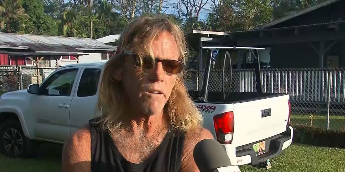 'It's just a matter of time': Leilani Estates resident prepares for worst as eruptions continue