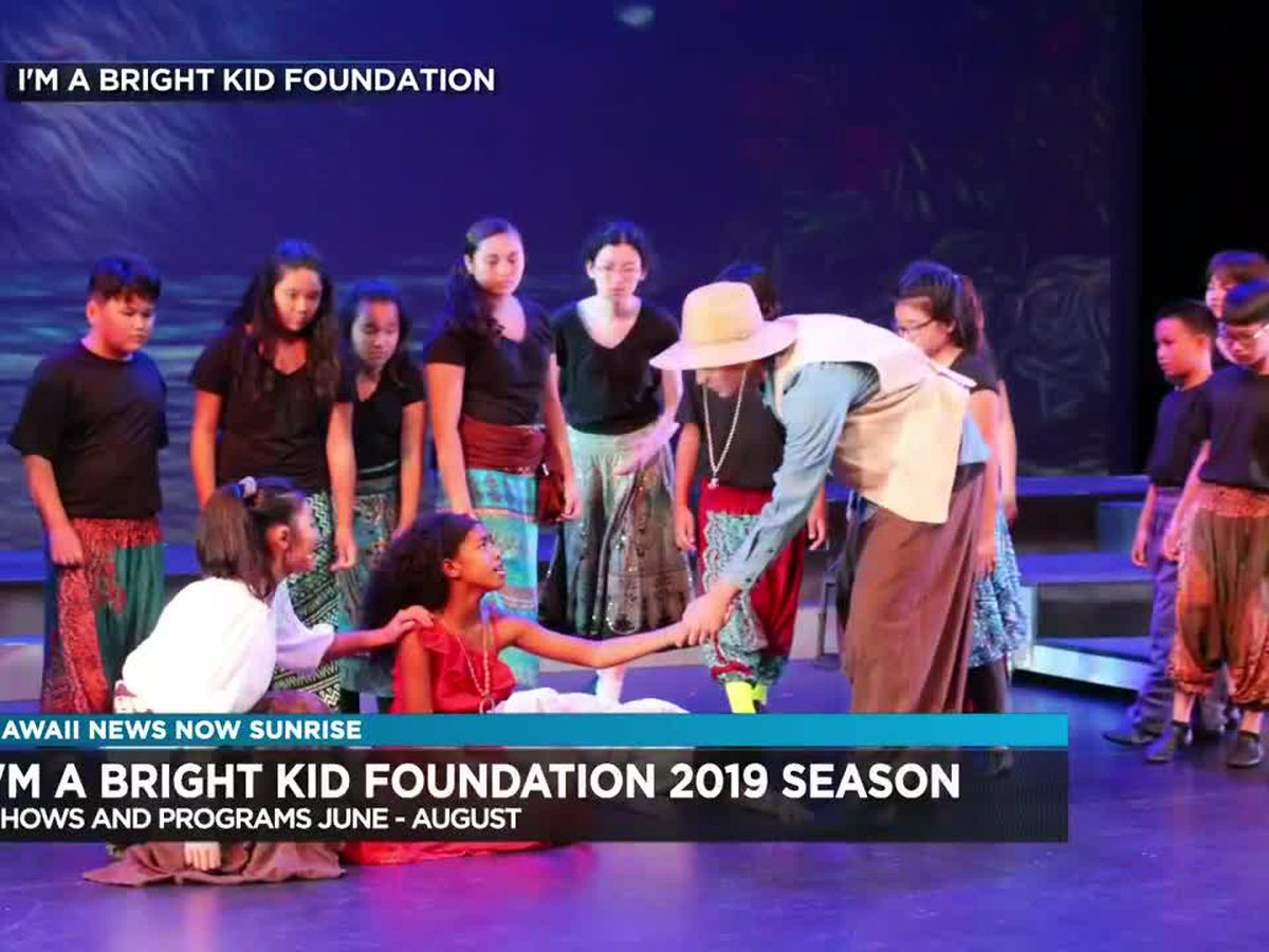 """I'm a Bright Kid"" Foundation announces 2019 season"