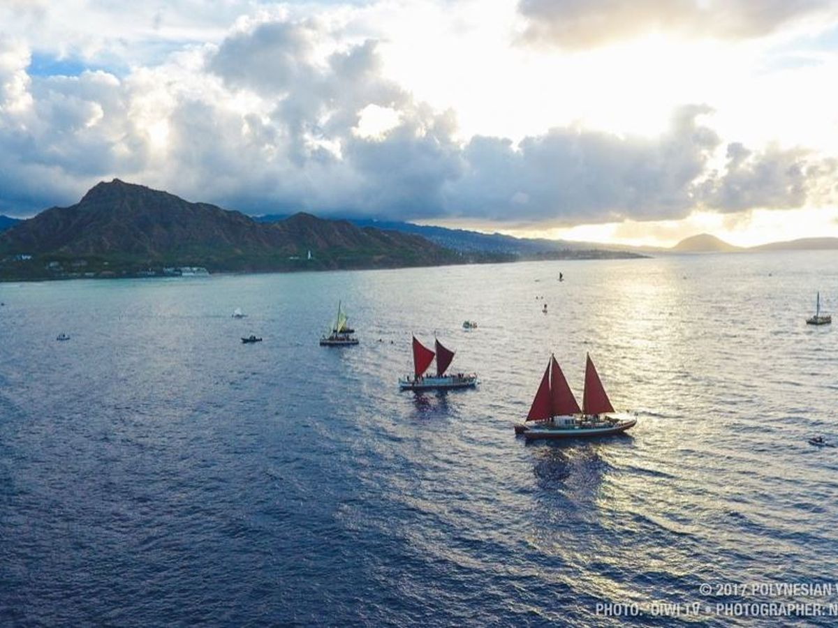 After completing worldwide voyage, Hokulea is now headed on a new adventure