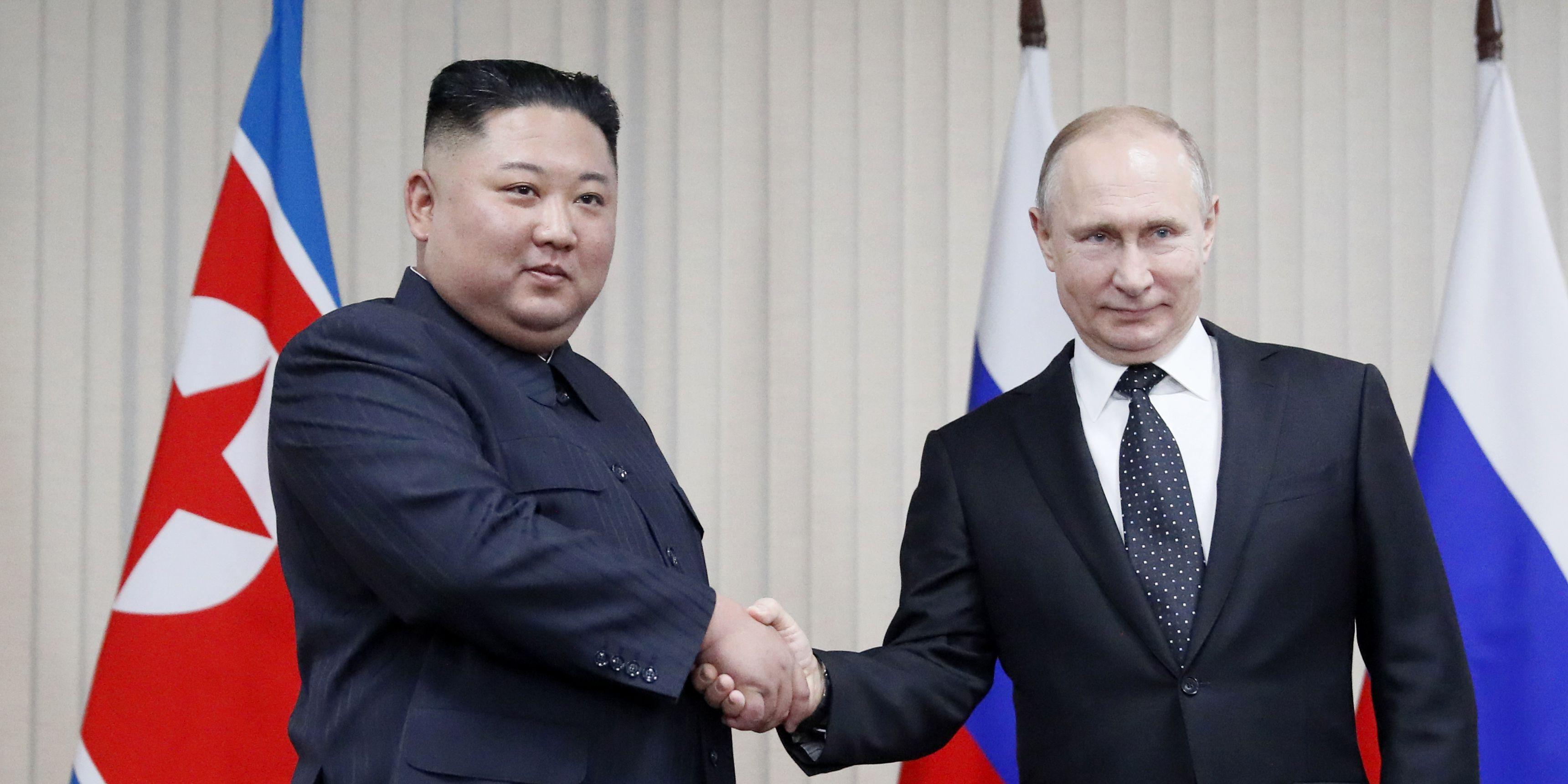 Putin says he'll brief US on summit with Kim