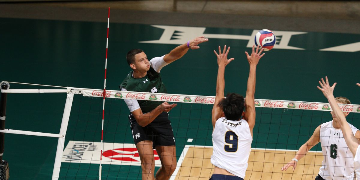 No. 1 UH men's volleyball stay unbeaten in series sweep against UC San Diego