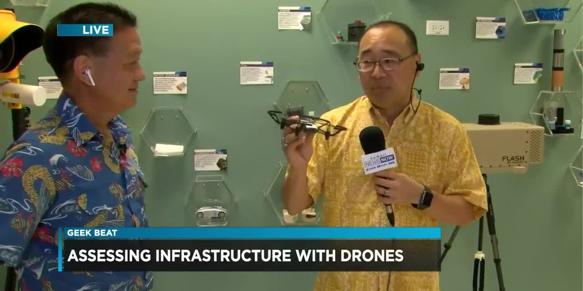 Geek Beat: Assessing infrastructure with drones