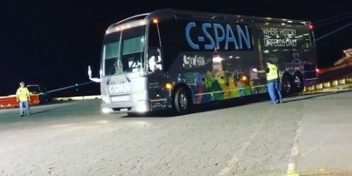 C-SPAN bus heads to Hawaii on 50 Capitals Tour