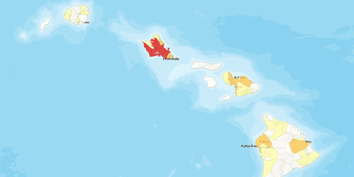 Hawaii passes the 5,000 mark with 220 new COVID cases on Sunday