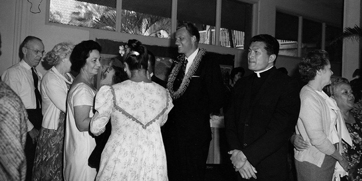 50 years ago, Billy Graham took his crusades to Hawaii and spoke of the 'spirit of aloha'
