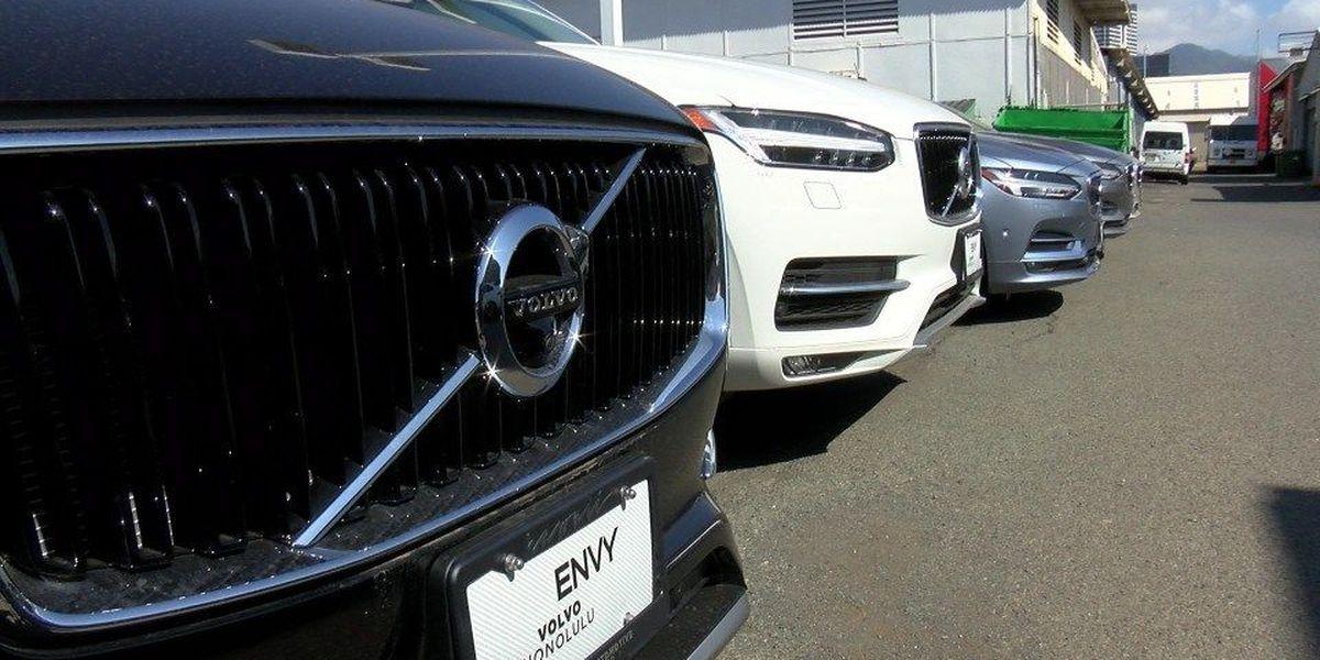Paperwork snag halts sales of new Volvos in Hawaii
