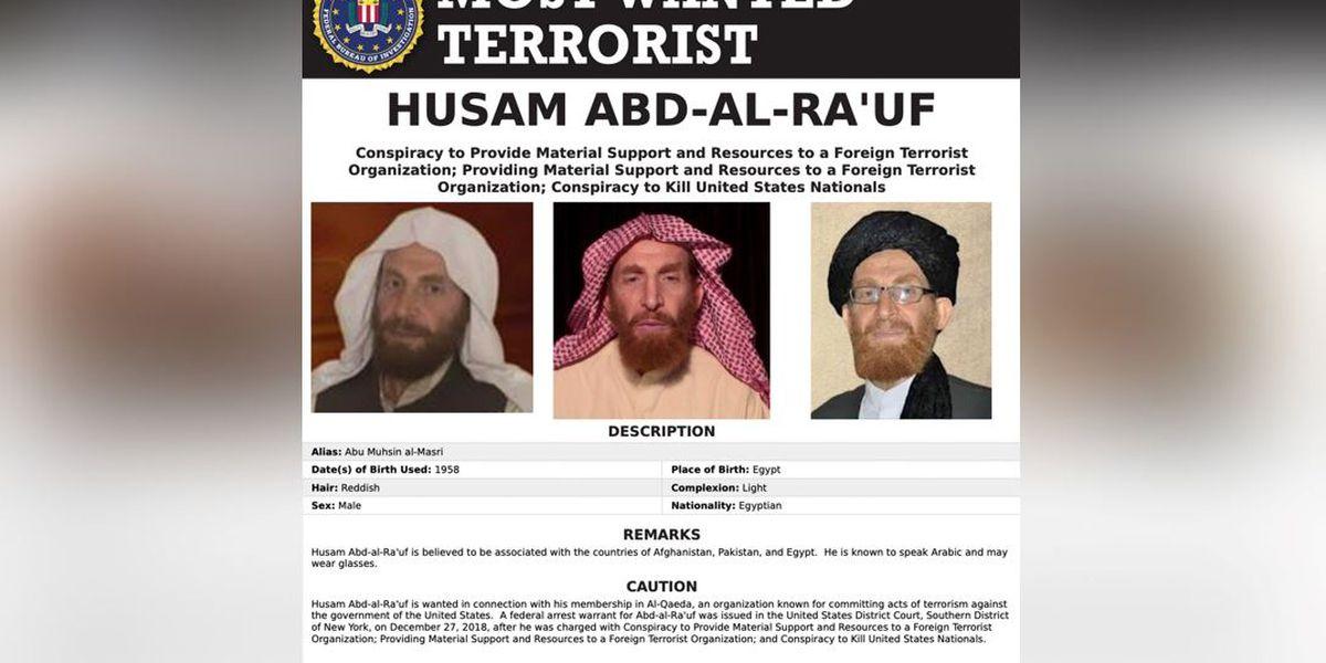 Al-Qaida leader wanted by FBI killed, Afghan officials say