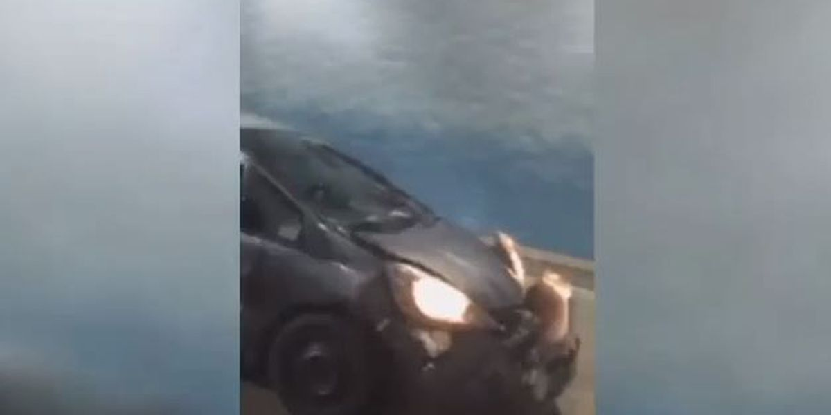 Apparent road rage incident caught on video
