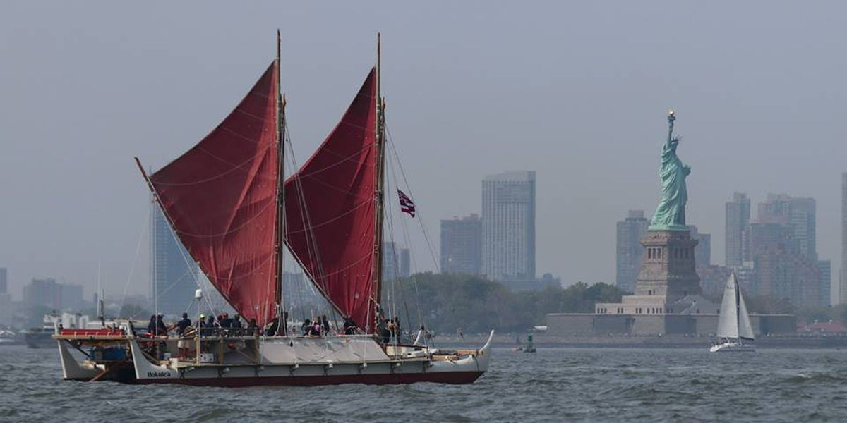 Hokulea worldwide voyage candidate for National Geographic award