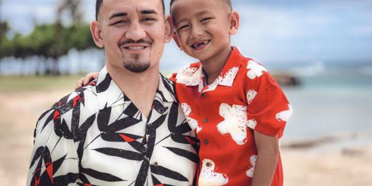 UNIQLO Hawaii to celebrate a milestone featuring MMA fighter Max Holloway