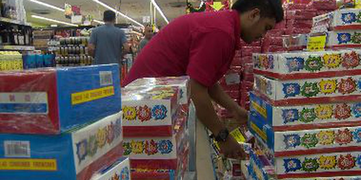 Day after Christmas, shoppers hit stores for after-holiday sales and NYE firecrackers