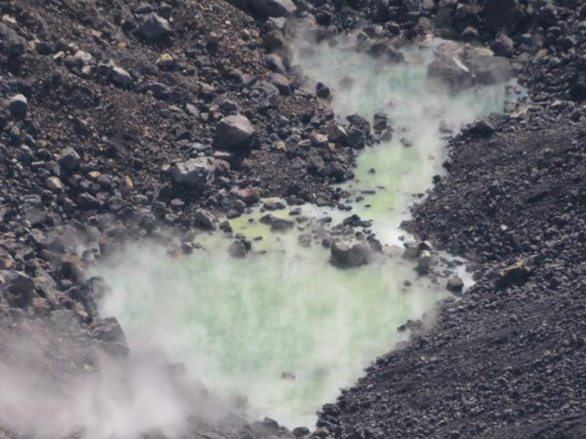 Water levels in Halemaumau Crater continue to rise