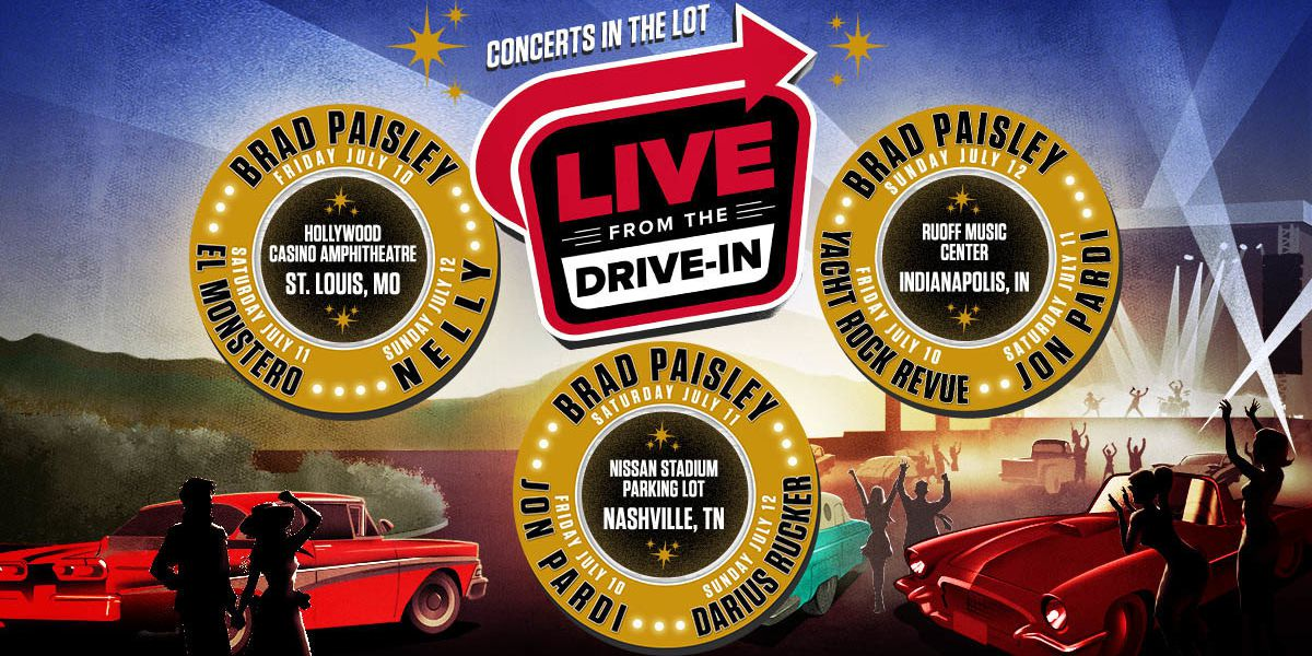 Amid pandemic, Live Nation announces drive-in concert series