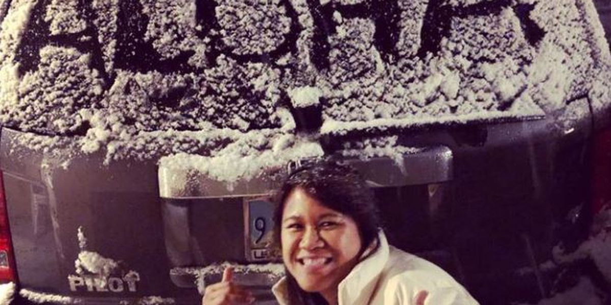 PHOTOS: Hawaii viewers snap photos of snow in Las Vegas!