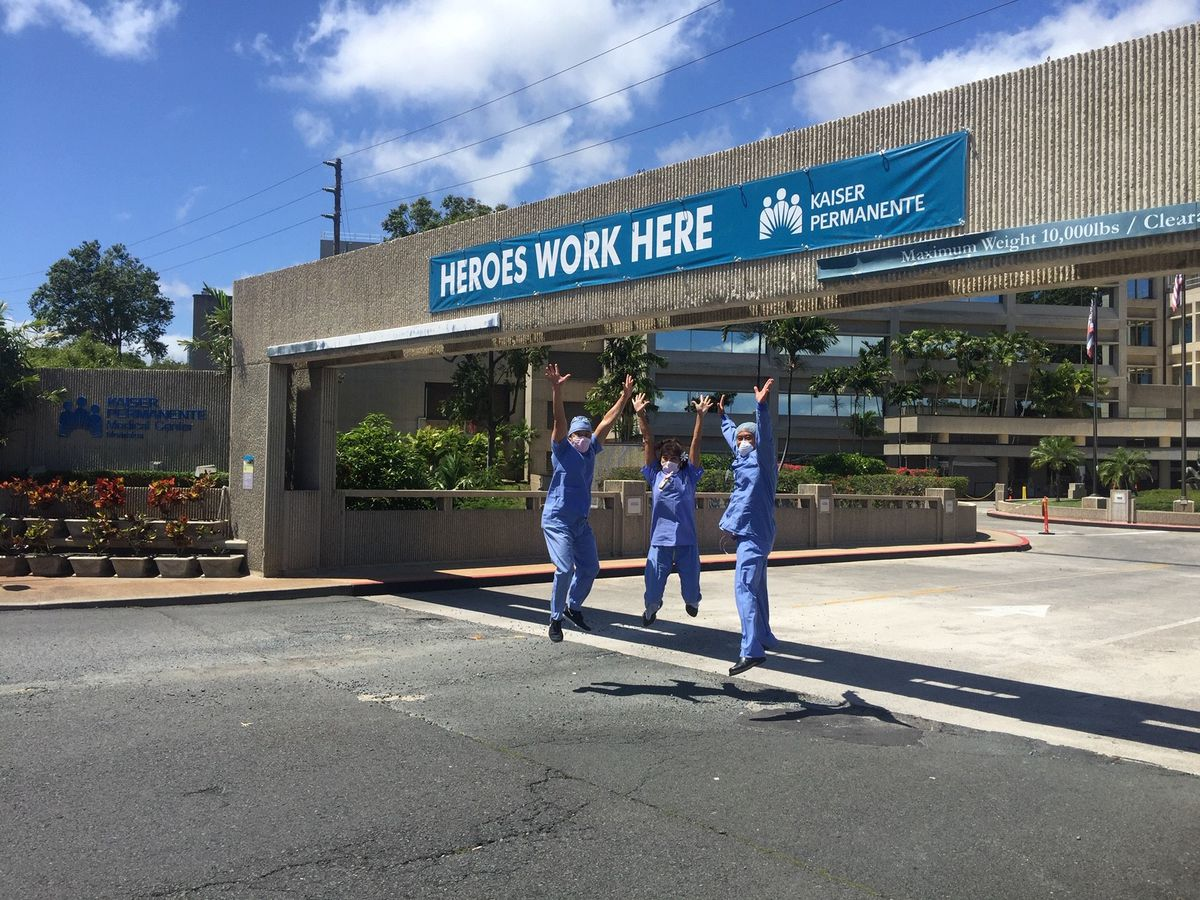 Honolulu family sends 'mega mahalos' to front-line workers