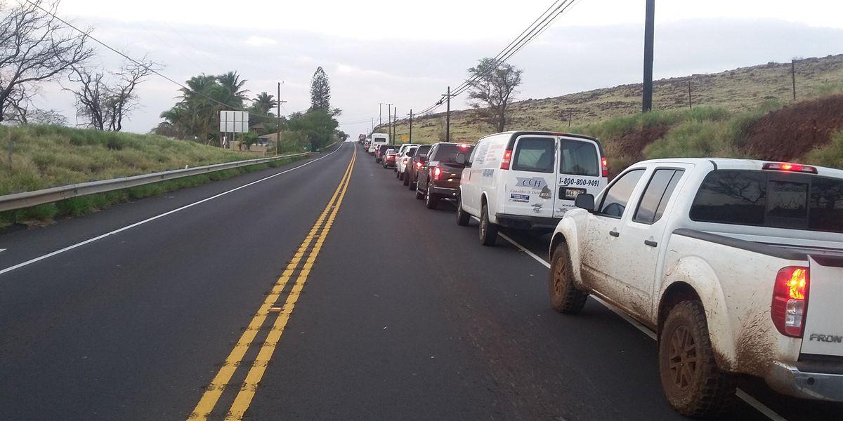 Crash on Honoapiilani Hwy. on Maui snarling traffic