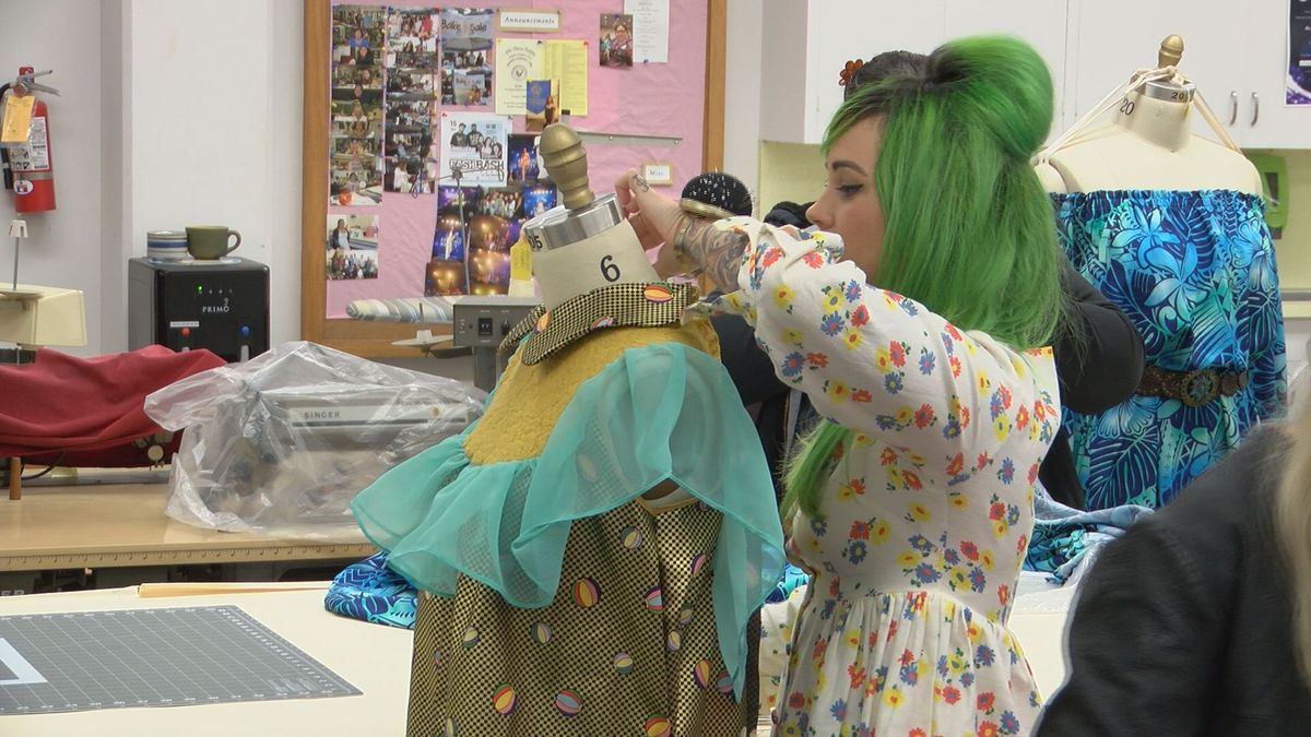 Students to show off their fashion designer chops at upcoming runway show