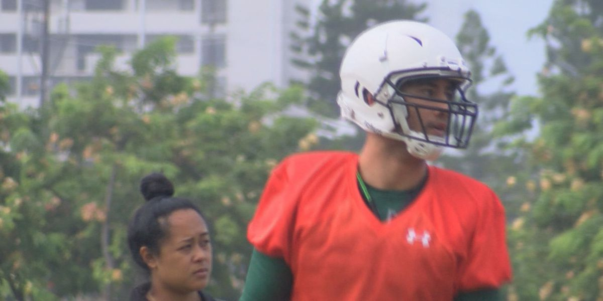 Two-sport Tuileta: UH volleyball standout makes his Hawaii football debut