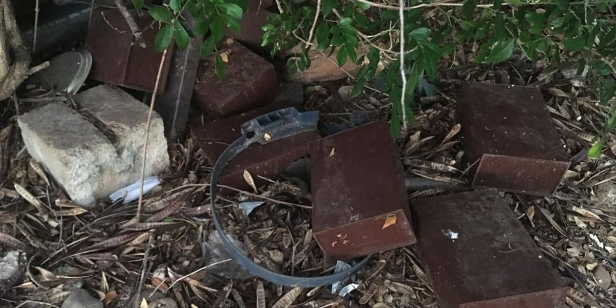 35 more displaced urns found in the bushes of a neglected Pearl City cemetery