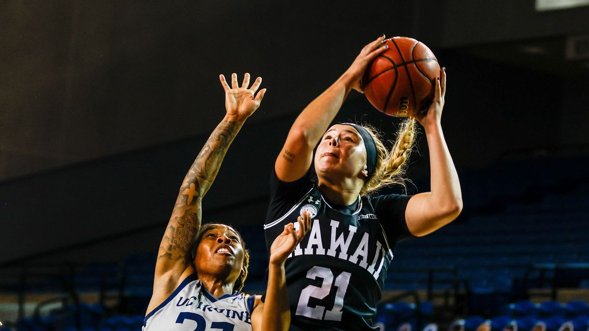 UH's Kasey Neubert takes pride in being a spark for the Wahine