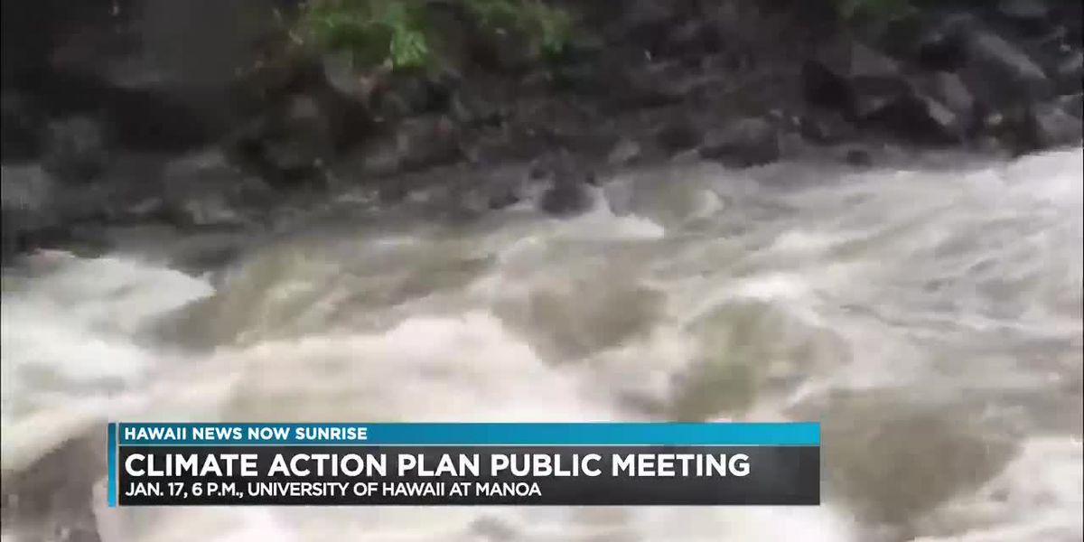 Climate Action Plan Public Meeting Series