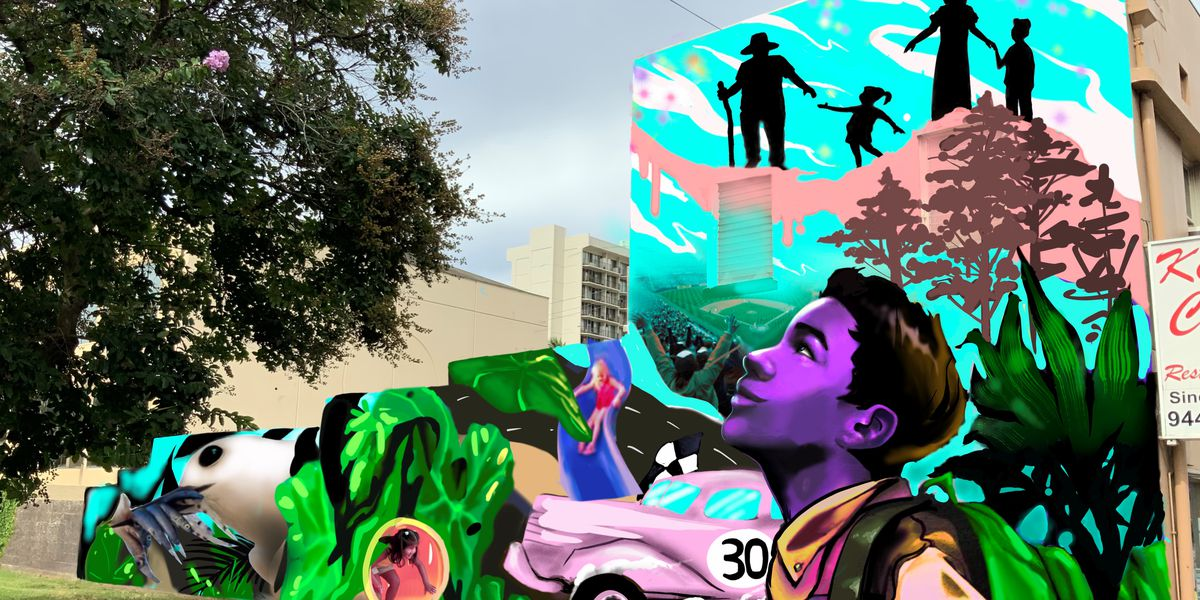Old Stadium Park to sport new mural showcasing history of Moiliili