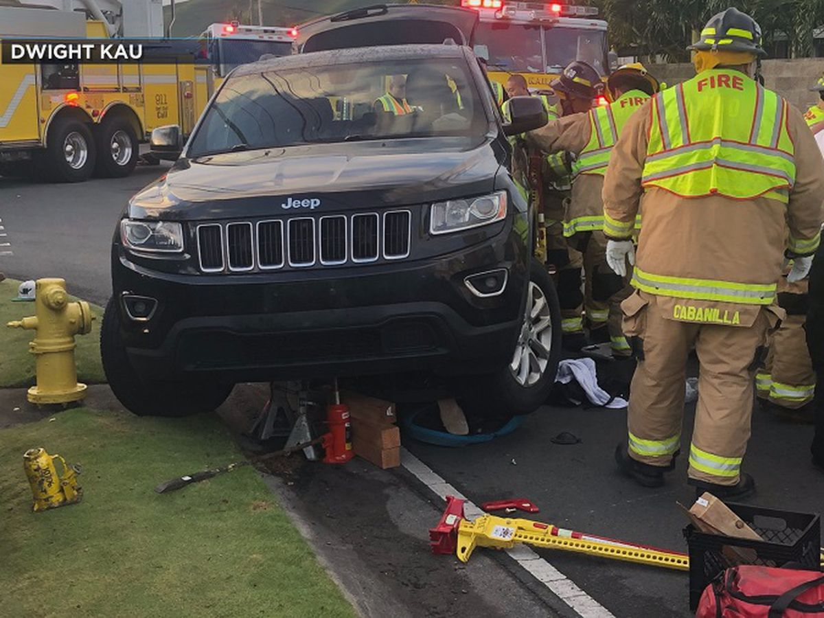Twin boys seriously injured after being struck by SUV in Kailua