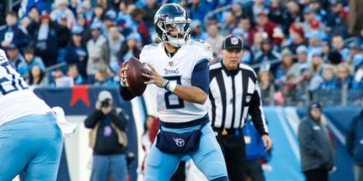 'What it's about': Mariota is doing everything he can to get back on the field this weekend