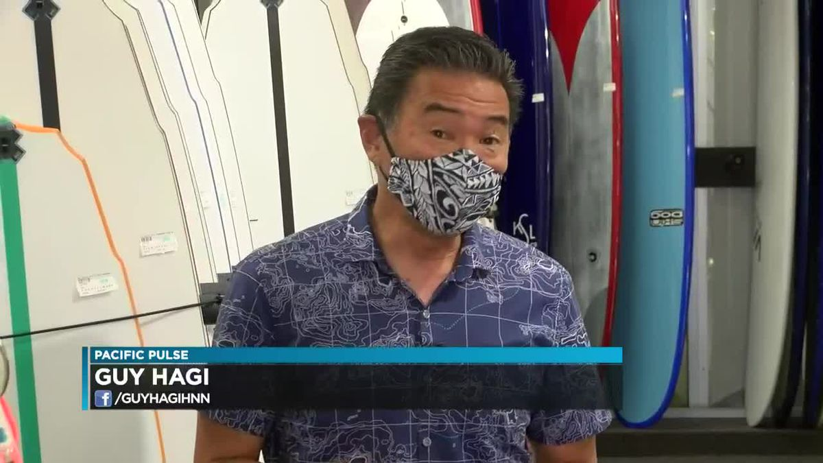 Pacific Pulse: Surfboard sales during the pandemic
