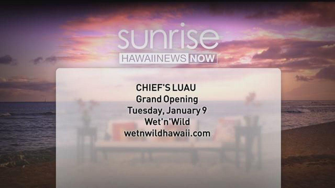 Chief's Luau is headed West with a permanent home at Wet'n'Wild