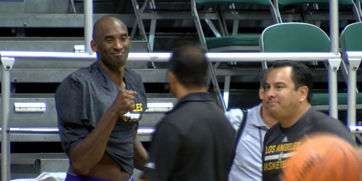 Basketball fans mourn death of legend Kobe Bryant: A look back at his visits to Hawaii