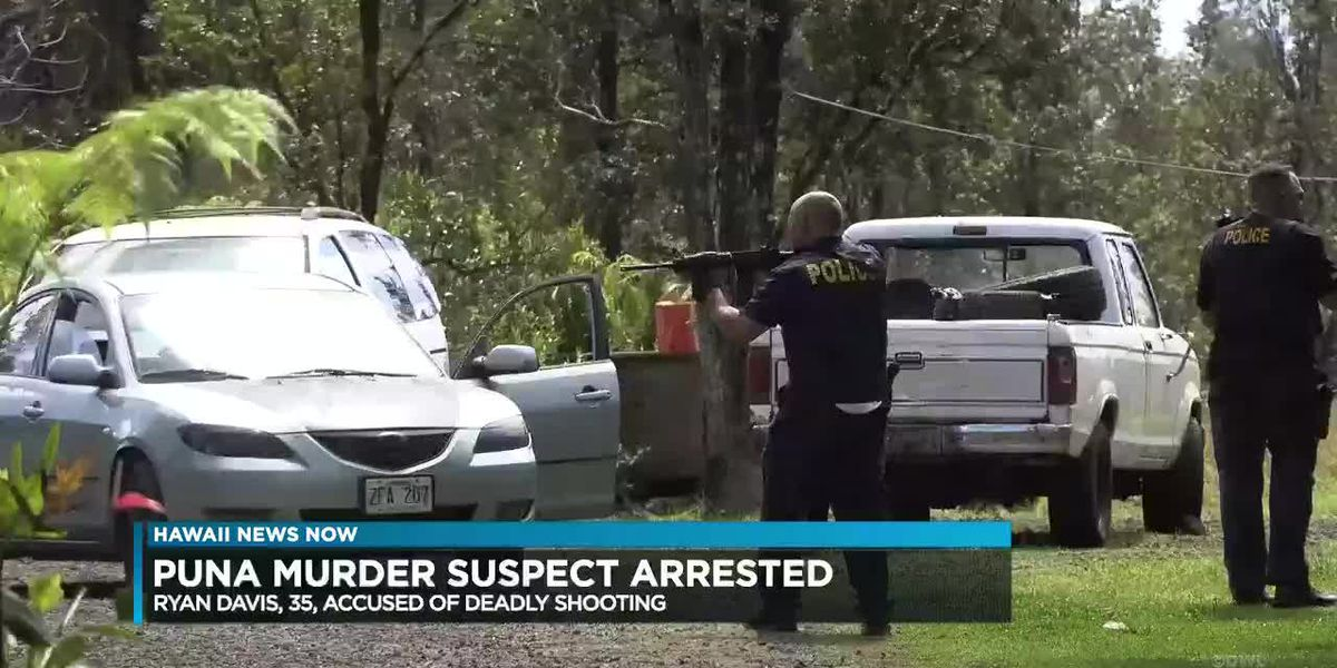 Police nab suspect wanted in connection with fatal shooting on Big Island