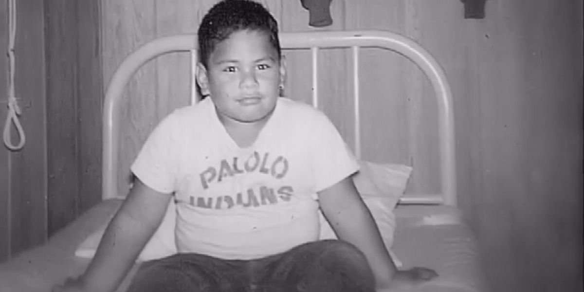 The little boy who would grow up to become one of Hawaii's most beloved musicians