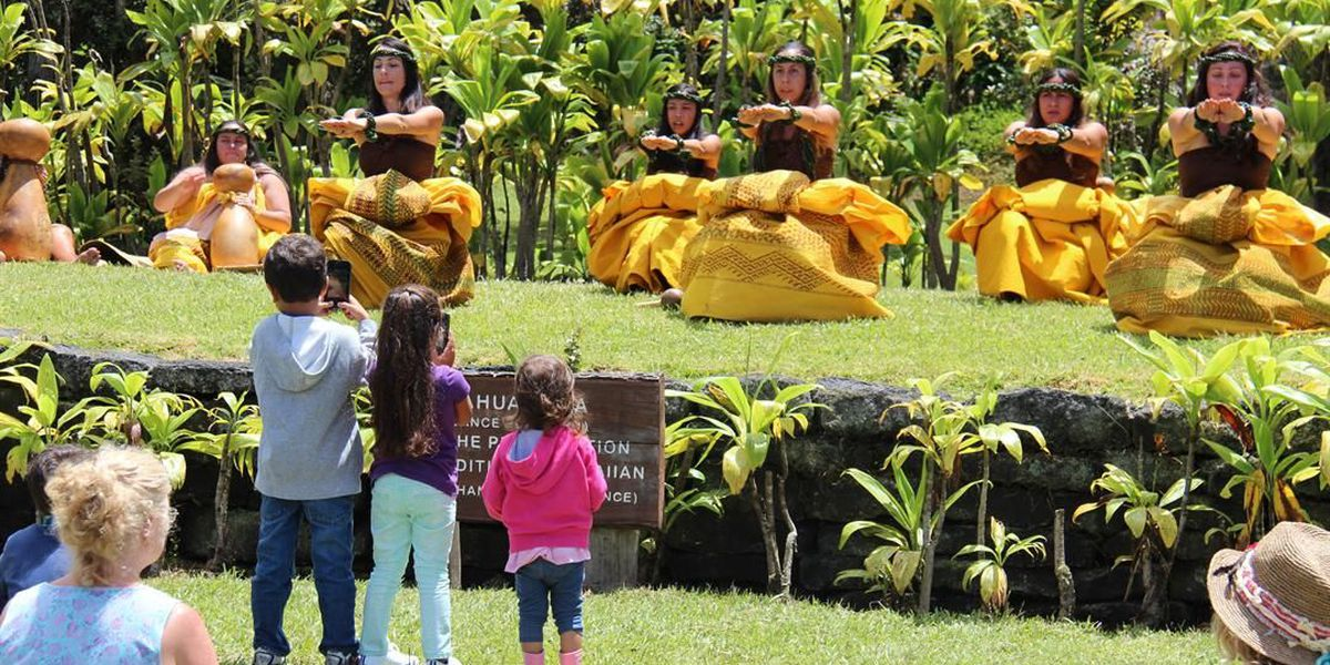 Large turnout for Hawaiian Cultural Festival on Big Island