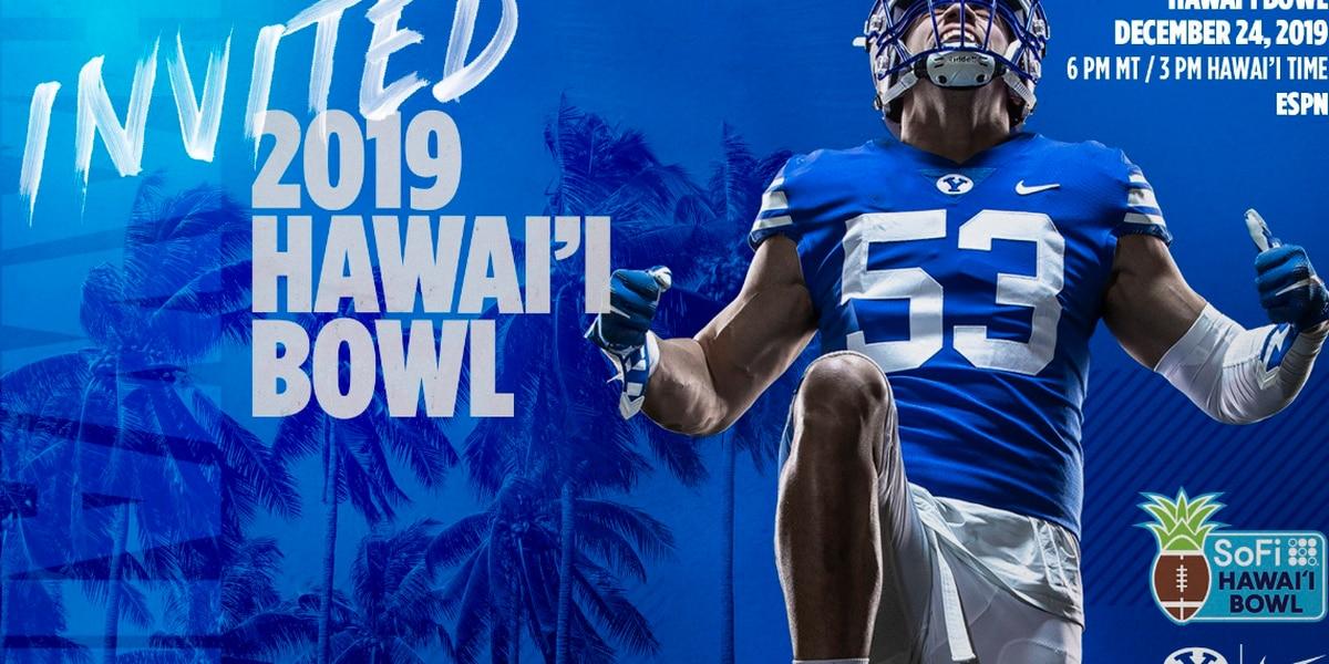 Longtime Hawaii rival BYU accepts SoFi Hawai'i Bowl invitation