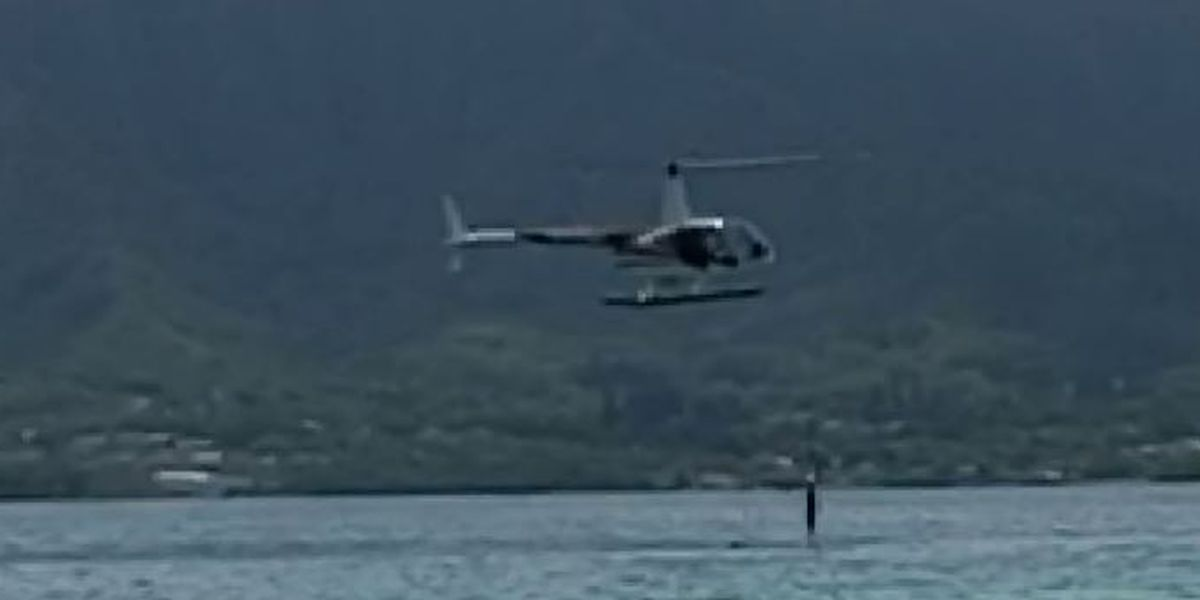 A passenger's jump from a chopper into Kaneohe Bay prompts federal probe